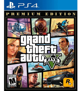 Juegos Grand Theft Auto V Gta 5 Premium Ps4 Playstation
