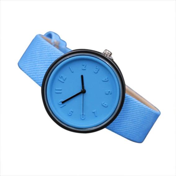 Relógio De Pulso Feminino Casual +cores