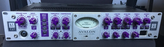 Avalon Vt-737 Classic Pré-amplificador