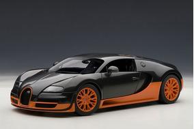 Bugatti Veyron Super Sport 1:18 Autoart Laranja 70936