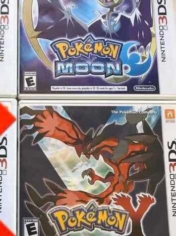 Jogos Pokemon Nintendo 3ds
