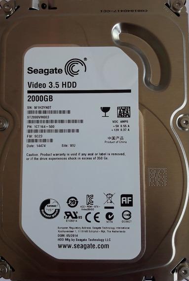 Hd 2tb Seagate Sata 5900rpm *pronta Entrega+frete Gratis