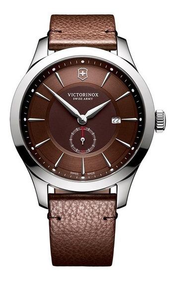 Relógio Victorinox Alliance Pulseira De Couro 241766