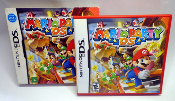 Jogo Mario Party Ds Nintendo Ds Completo Com Luva E Manual