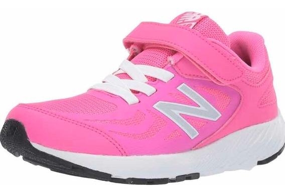 Tenis Originales Para Correr De Mujer New Balance, Rosa, 25