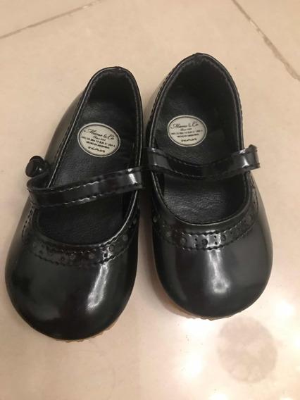 Zapatos De Vestir Charol Mimo Nena Bebé 10