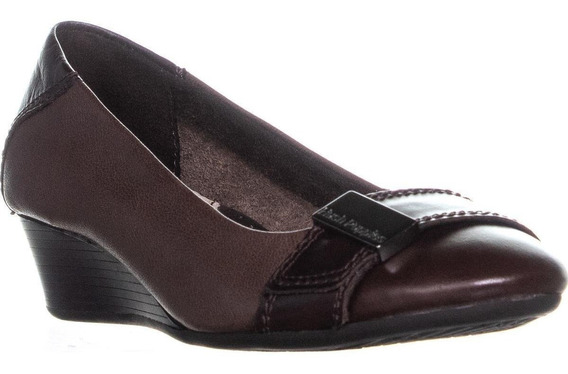 Zapatos Hush Puppies Candid Pump_or Dark Brown No. H506685