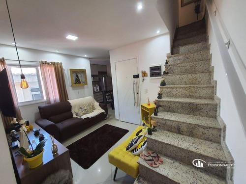 Imagem 1 de 23 de Cobertura Com 2 Dormitórios À Venda, 126 M² Por R$ 410.000,00 - Parque Oratório - Santo André/sp - Co0065