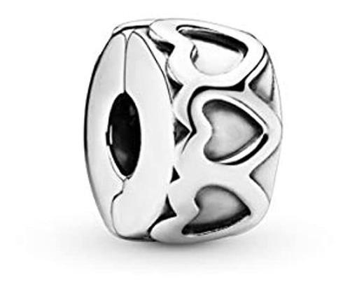 Colgante De Plata, Diseño De Corazón, Marca Pyle