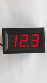 4 Voltimetros Digital 4.5 A 30v Vermelho Azul Verde