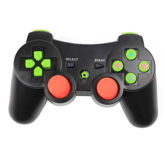 Ps3 Gamepad Sem Fio Bluetooth Preto
