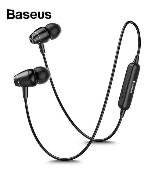 Fone De Ouvido Bluetooth Sem Fio Baseus Original Esportivo