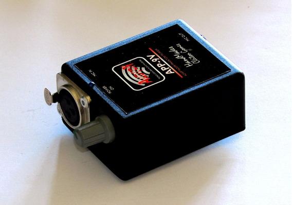 Adaptador Phantom Power C/controle De Volume Xlr (canon)