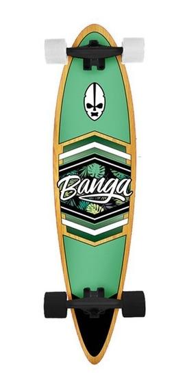 Patineta Longboard Banga Pintail Skate Tabla Surf Street