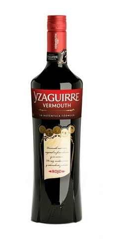 Imagen 1 de 10 de Vermouth Yzaguirre Rojo 1000ml. - Importado De España