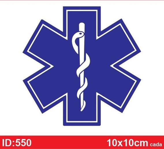 Adesivo Resgate, Salvamento, Medicina, Enfermagem - Id550