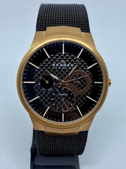 Relógio Skagen Titanium Mesh 809xltrb