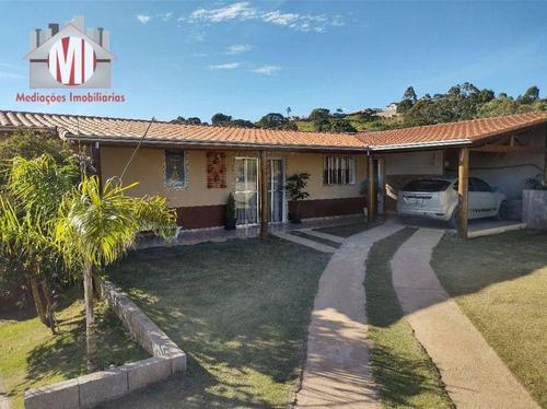 Imagem 1 de 30 de Linda Chácara Com 02 Casas, 3 Dormitórios, Acesso Asfaltado, Perto Da Cidade, À Venda, 2000 M² Por R$ 425.000 - Zona Rural - Pinhalzinho/sp - Ch0969