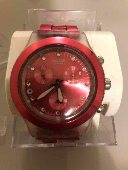 Relógio Swatch Cereja Original