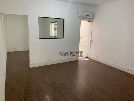 Sala Para Alugar, 180 M² Por R$ 2.500/mês - Mooca - São Paulo/sp - Sa0028