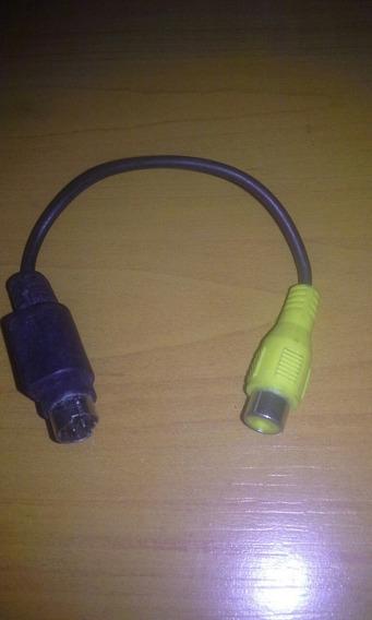 Cable Rca Hembra / Mini Dim 4 Pin Macho 15 Vds