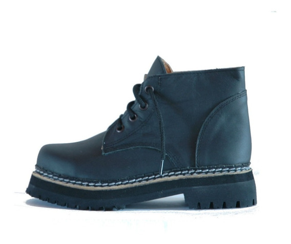 Borcegos Dirty Boots T34a39 C. Baja Base Doble Mujer Hombre