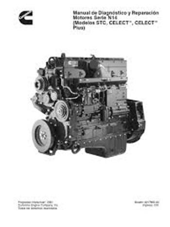 Manual De Diagnóstico Y Reparacion Motores Serie Isb 4 Y 6