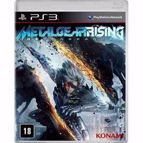 Metal Gear Rising - Jogo Ps3 Original - Midia Fisica Lacrado