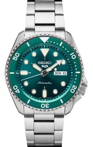 Lançamento Relógio Seiko Srpd61 Verde Automático Confira