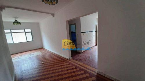 Imagem 1 de 18 de Apartamento Com 1 Dormitório À Venda, 53 M² Por R$ 170.000,00 - Canto Do Forte - Praia Grande/sp - Ap15796