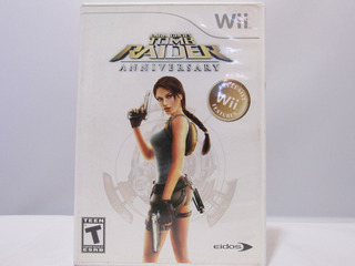 Tomb Raider: Anniversary - Wii ¡fisico-usado!