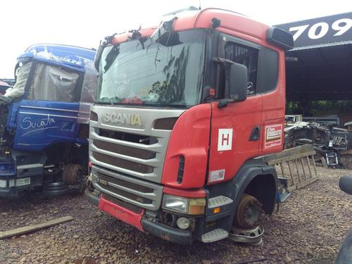 Sucata Scania  G380 A4x2 2010 Para Venda De Peças
