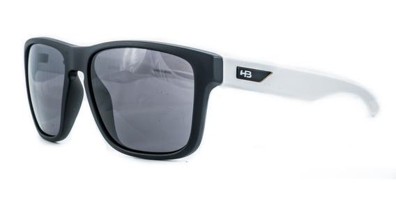Óculos De Sol Hb H-bomb Preto C/ Branco Original C/ Garantia