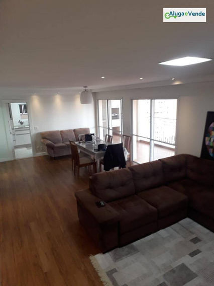 Apartamento Com 3 Suítes, 2 Vagas, Aceita Permuta, À Venda, No Condomínio Parque Clube, 150 M² Por R$ 850.000 - Vila Augusta - Guarulhos/sp - Ap0129