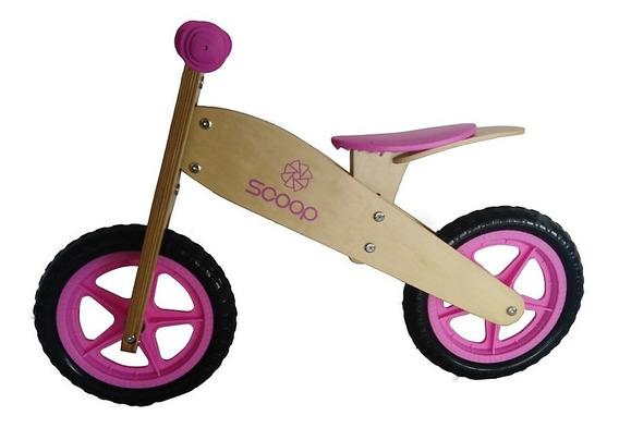 Bicicleta Camicleta R12 Sin Pedales Madera Premium + Colores