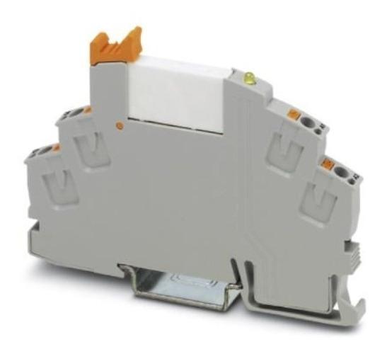 Borne Relé Interface Na 12v - Rif-0-rpt-12dc/1 2903362-9pçs