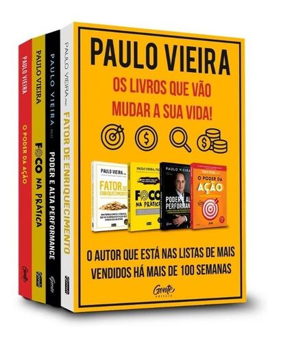 Box C/4 Livros Paulo Vieira Os Livros Que Vão Mudar Sua Vida