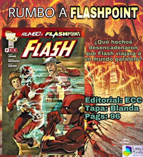 Imagen 1 de 1 de Rumbo A Flashpoint. Cómic Ecc