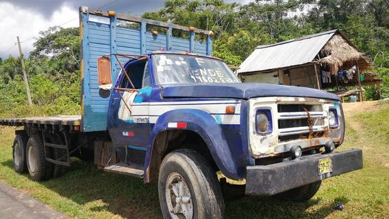 Venta De Camion Dodge Modelo D-500, Motor Petrolero, Ejes 3,