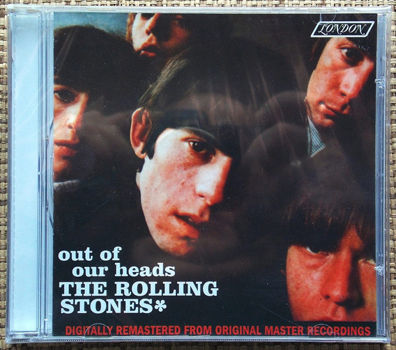 Cd Rolling Stones - Out Of Our Heads - Lacrado Remasterizado