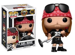 Funko Pop Axl Rose Guns And Roses 50 Original