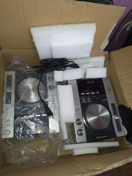 Cdj 200 Pioneer + Mixer Gemini Pmx 2000