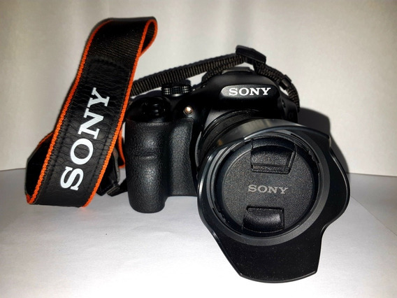 Camara Sony Alpha + Funda Original + Accesorios