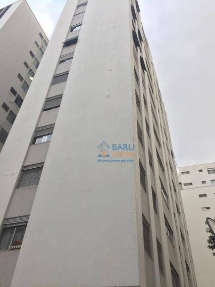 Apartamento Com 3 Dormitórios Para Alugar, 117 M² Por R$ 3.300,00 - Santa Cecília - São Paulo/sp - Ap10039