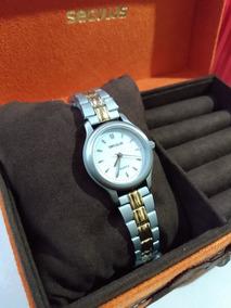 Relógio Seculus 21102lo Luxo Barato Em Promoção