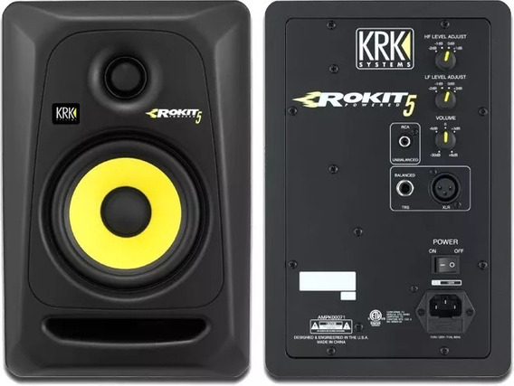 Monitor Ativo Krk Rokit Rp5 G3 - Par/novo 110v