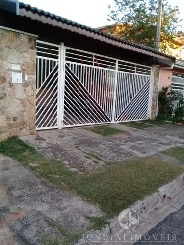 Vendo Ótima Casa No Jd. Sarapiranga Em Jundiaí, 101 M² De A/c, 02 Dormitórios (01 Suíte) 03 Vagas. Estuda Permuta Por Chácara Na Região. - Ca00411 - 68499809