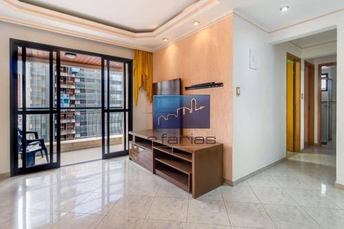 Apartamento Com 3 Dormitórios À Venda, 85 M² Por R$ 690.000 - Tatuapé - São Paulo/sp - Ap1010
