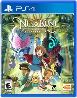 Ni No Kuni: Wrath Of The White Witch / Juego Físico / Ps4