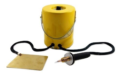 Imagen 1 de 5 de Lapiz Electrico Pirograbador Grabador Para Grabar Metales Acero